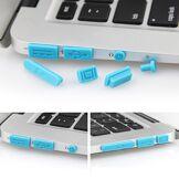Apple MacBook Silikone Anti-Støv Propper - Blå