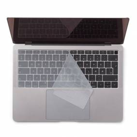 Philbert Macbook Air (A1932) Keyboard Deksel M. Nordisk Tastatur - Transparent