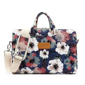 Canvaslife Camellia Flower Bag Til Macbook 15
