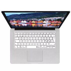 KB Covers Macbook (A1534 / A1708) Keyboard Deksel M. Nordisk Tastatur Design (Kb Deksels) - White