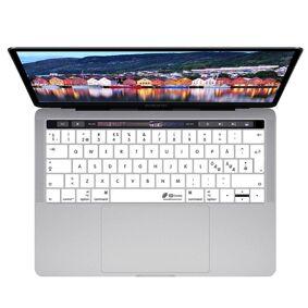 KB Covers Macbook (A1706 / A1707 / A1990) Keyboard Deksel M. Nordisk Tastatur Design (Kb Deksels) - White