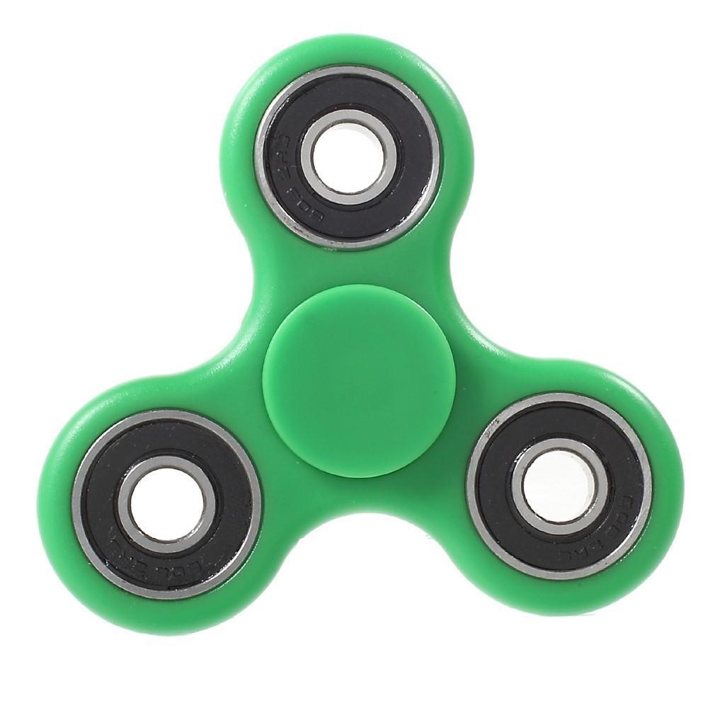 Fidget Spinner - Afstressende Legetøj Til Alle - Grønn