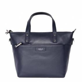 Golla Handbag Carina Skinn Navy