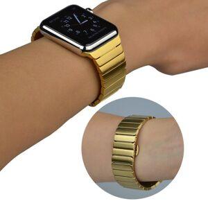 Apple Watch Rem 42-44mm Rustfri Stål m. Stifter - Gull