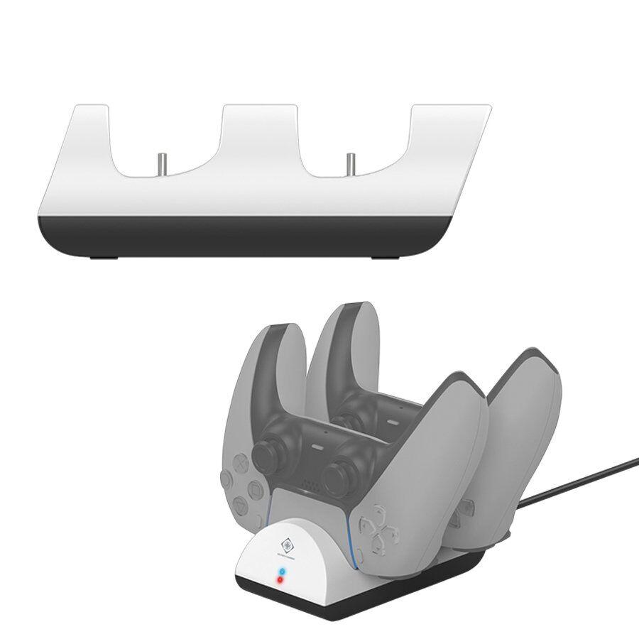 Deltaco Gaming Charging Station - Dual Playstation 5 - Hvit
