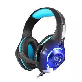 Sandberg Twister Gaming Headset - Over-Ear M. Ledning - Svart/blå