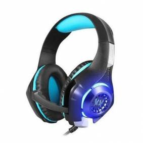 Sandberg Twister Gaming Headset - Over-Ear M. Ledning - Svart/blå
