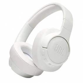 JBL Tune 750bt - Bluetooth Over-Ear Hodetelefoner M. Noise Cancelling - Hvit