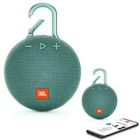 JBL Clip 3 Bluetooth Waterproof Trådløs Vanntett Høyttaler - Teal