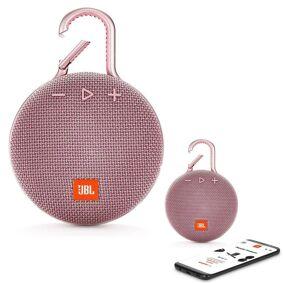 JBL Clip 3 Bluetooth Waterproof Trådløs Vanntett Høyttaler - Pink