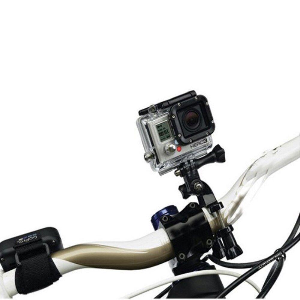 GearMate Cykel/Motorcykel/Pole Mount m. Justerbar arm til GoPro Hero 4/3/2/1