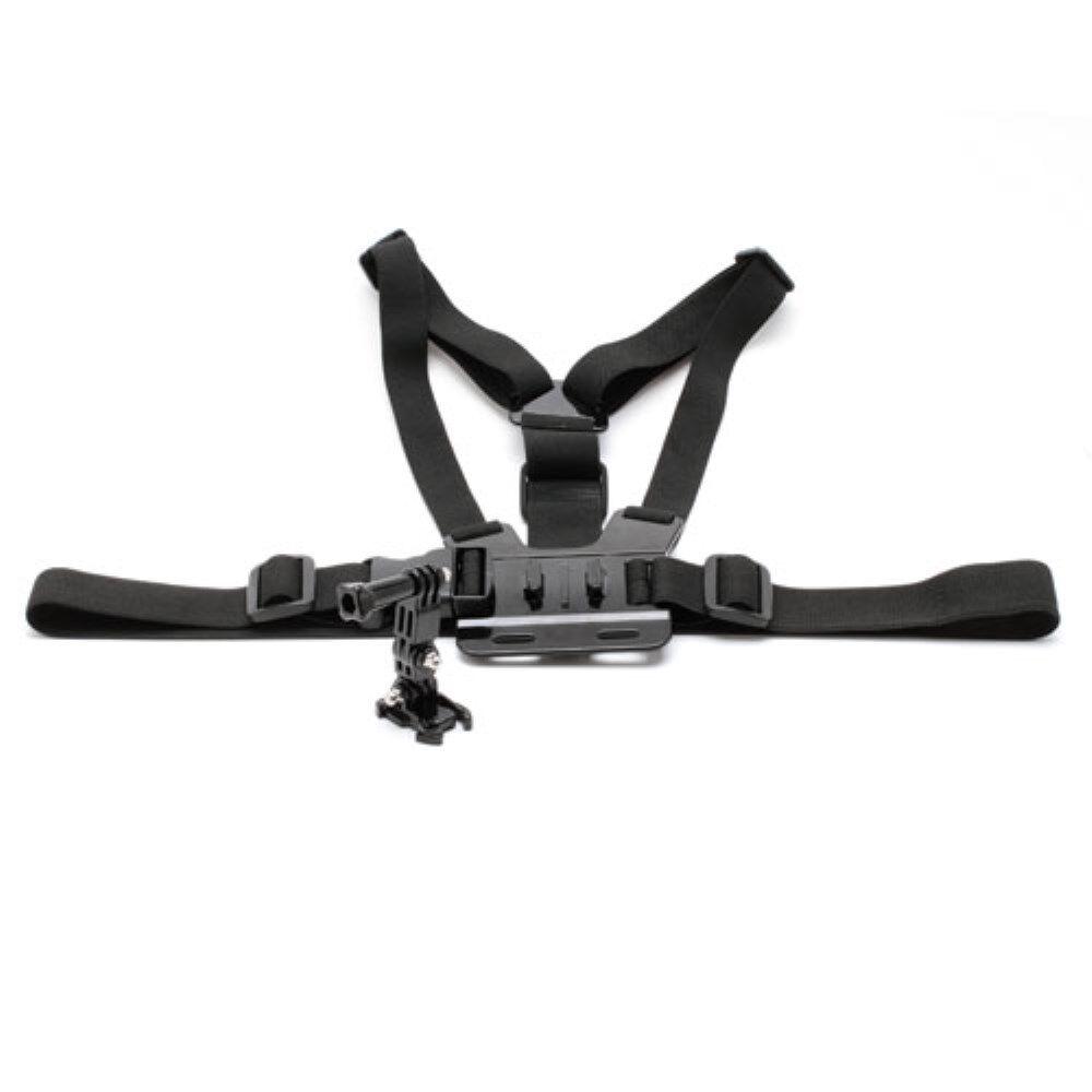 GearMate Fleksibel Bryst Mount til GoPro Hero 4/3/2/1