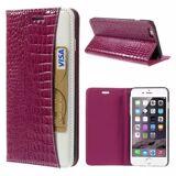 INCOVER Iphone 6/6s/7 Plus Croco Flip Deksel Med Lommebok - Rosa