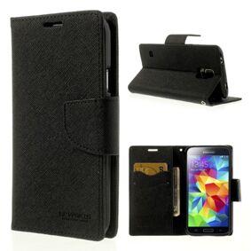 Mercury Samsung Galaxy S5 Goospery Wallet Etui Svart