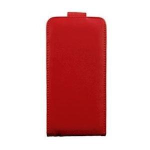 INCOVER Iphone 6 Plus / 6s Plus Skinn Flip Deksel Med Lommebok Rød