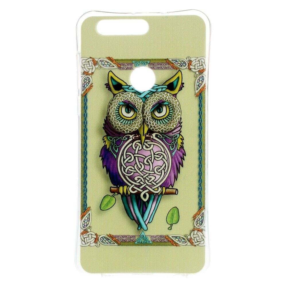 Huawei Honor 8 TPU Deksel - Fashionable Owl