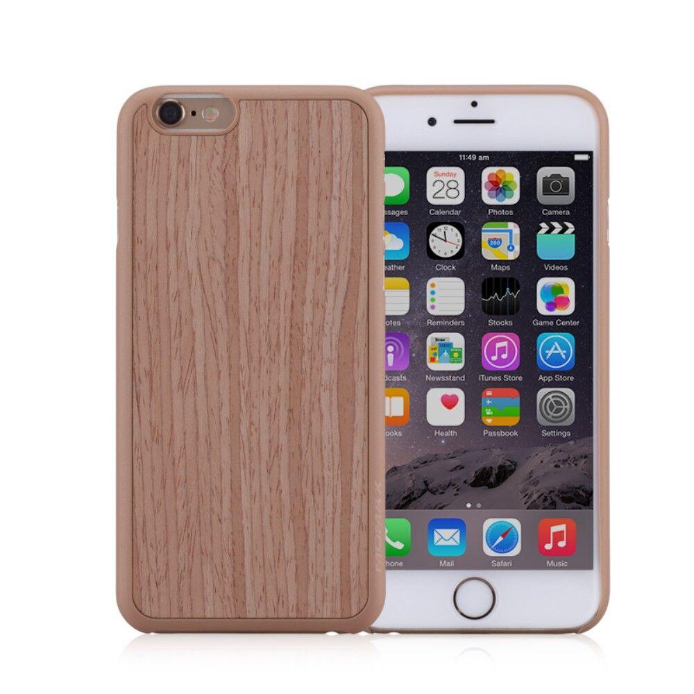 Apple iPhone 6/6s MOMAX Plastikk TræDeksel - Khaki
