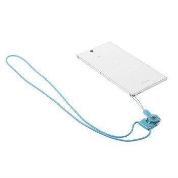 Samsung Halskjede For Smartphones & Gadgets - Lys Blå