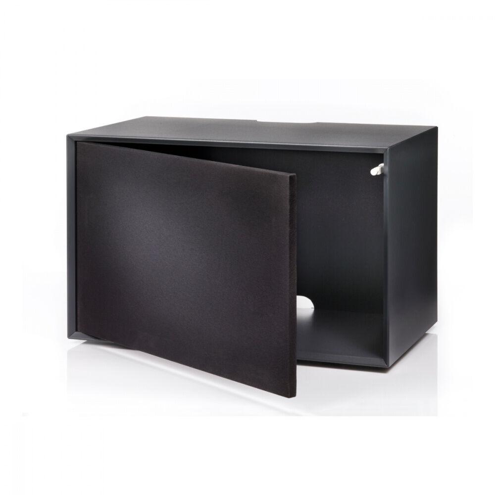 HMS Furniture Group The Box Media Modul Svart Høyttalerstoff