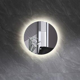 Bathlife Skina Speil 60x60 Cm, Hvit
