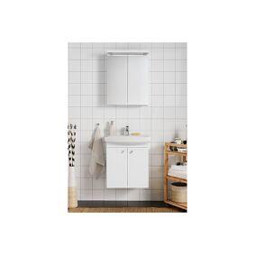 Hafa Life 600 Møbelpakke 60x40x60 Cm, Med Servant Og Speilskap