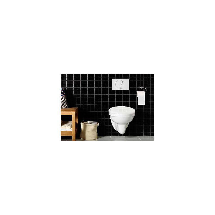 Hafa Wall Vegghengt toalett Inkl. sisterne og hvit spyleknapp