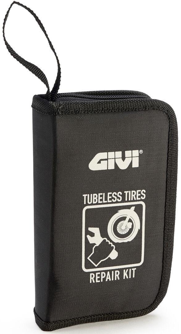 Givi Tire Repair Kit Reparasjonssett for dekk en størrelse Svart