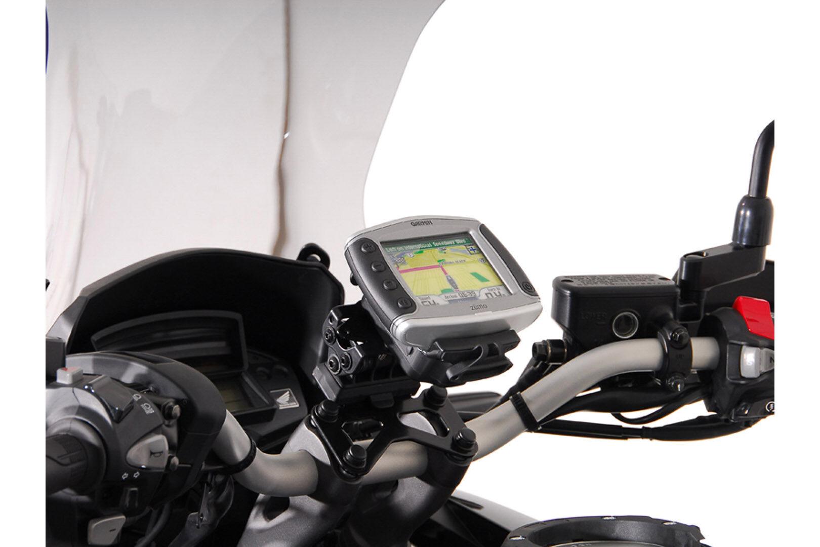 SW-Motech GPS montere for styret svart - Honda VFR 1200 X Crosstour...
