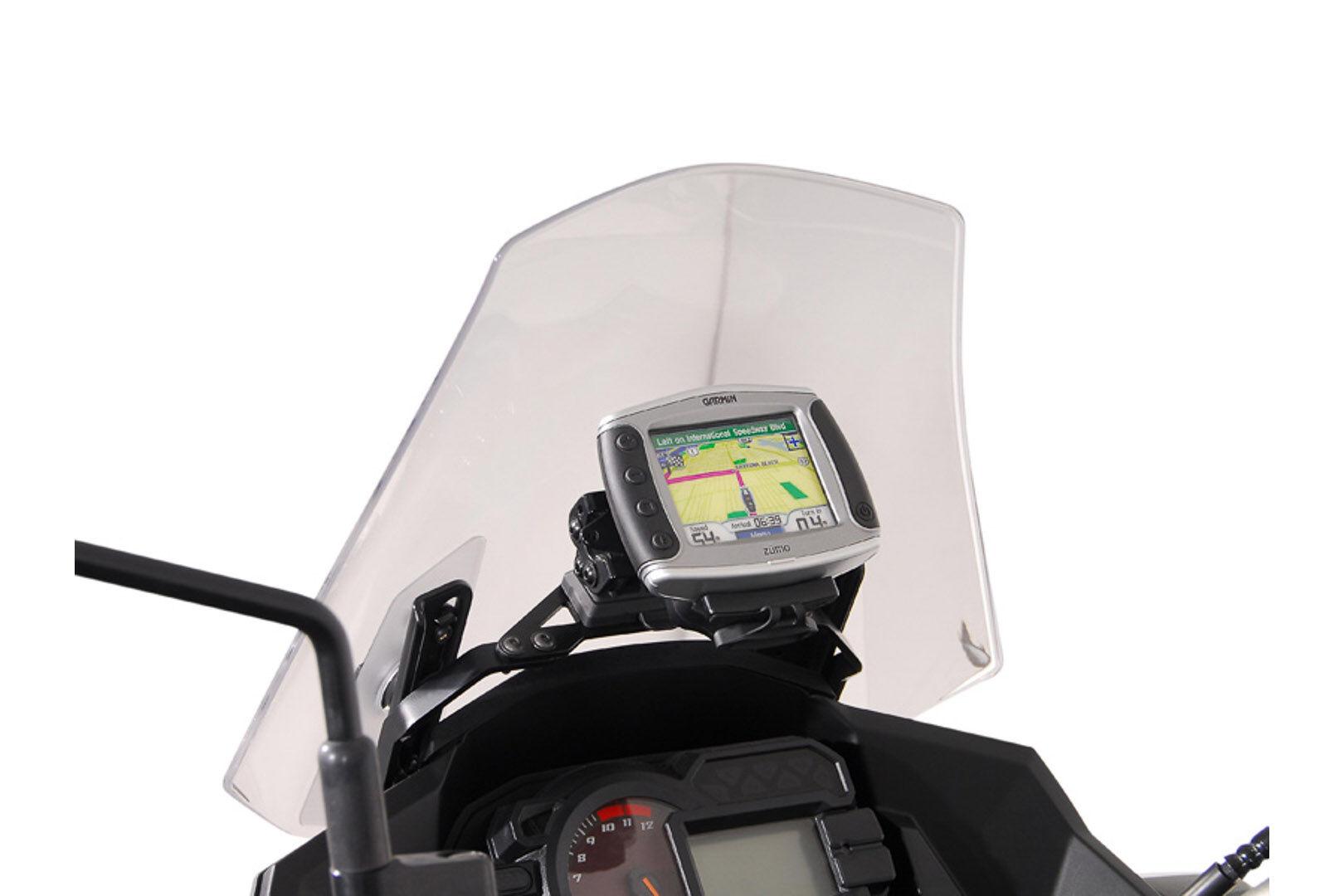 SW-Motech GPS montere for cockpit svart - Kawasaki Versys 1000 (12-...