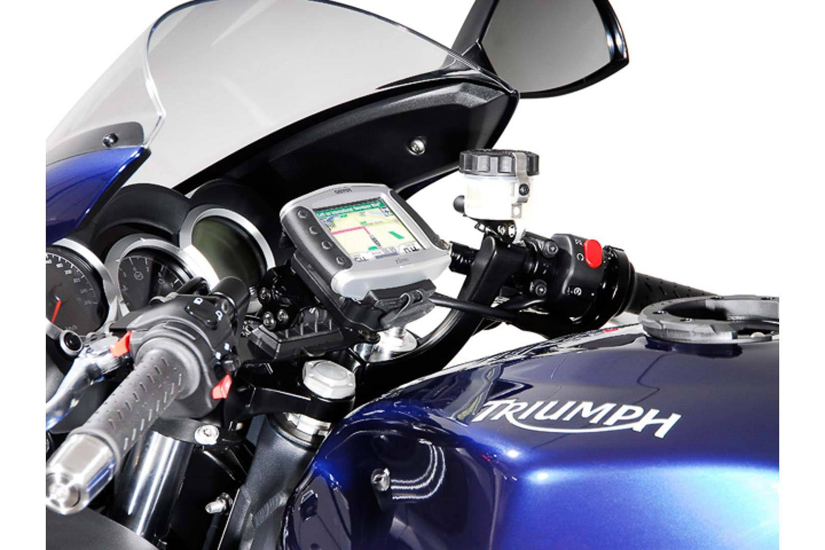 SW-Motech GPS montere for styret svart sjokk absorberende