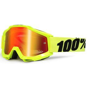 100% Accuri Extra Barna Motocross briller en størrelse Gul