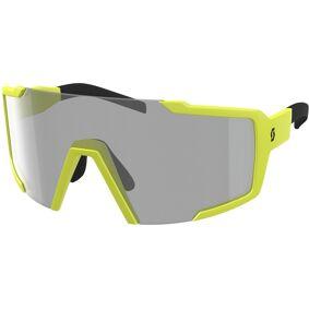 Scott Shield LS Solbriller en størrelse Grå Gul
