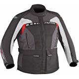 Ixon Corsica Lady C Ladies tekstil jakke 4XL Svart Grå