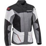 Ixon Sicilia Vanntett Ladies Motorsykkel tekstil jakke XS Svart Grå Rød