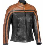 Ixon Pioneer Ladies Motorsykkel skinnjakke L Brun