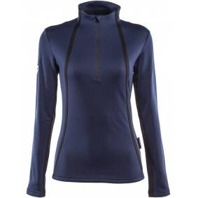 Dainese HP2 Mid Half Zip Ladies funksjonelle skjorte M Blå