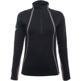Dainese HP2 Mid Half Zip Ladies funksjonelle skjorte L Svart