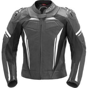 Büse Imola Ladies motorsykkel skinnjakke 42 Svart Hvit