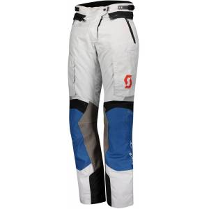 Scott Dualraid Dryo Ladies Motorsykkel tekstil bukser 38 Grå Blå