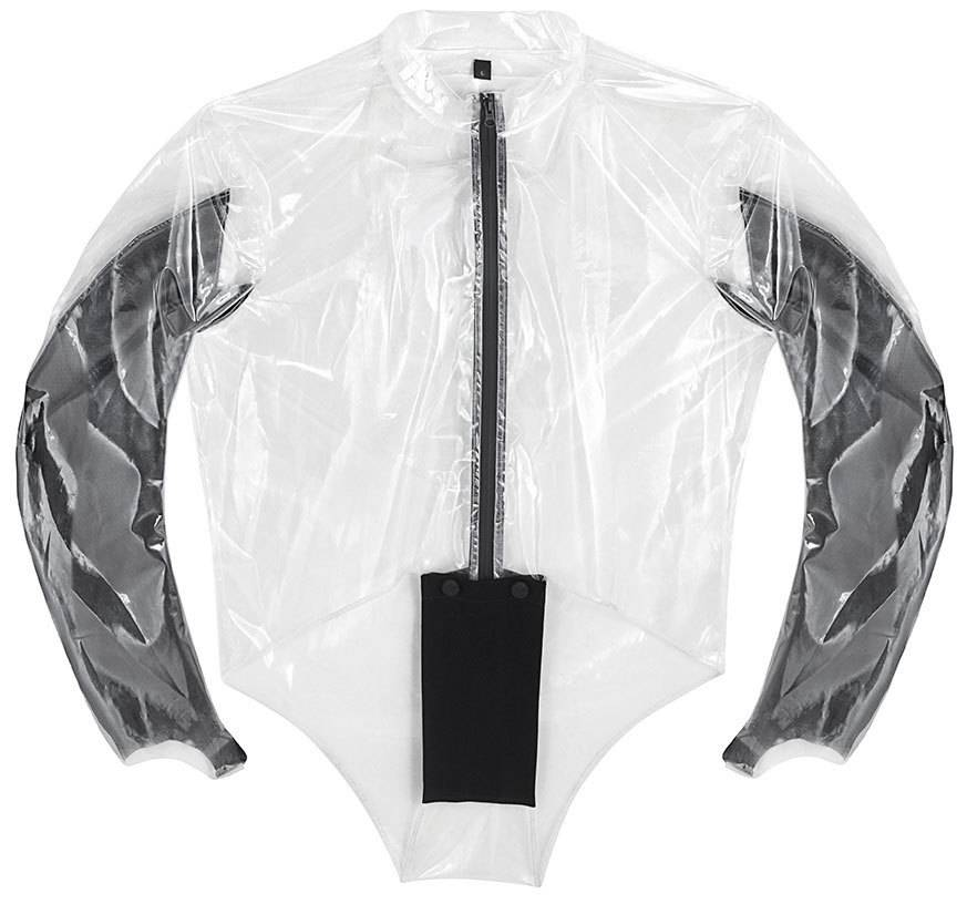 IXS Rain Torso Evo Rain Jacket Hvit 2XL