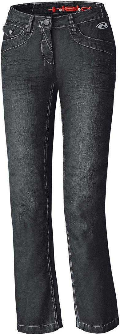 7770e4d4 Held Crane Denim Motorsykkel damer Jeans bukser Svart 3XL