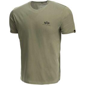 Alpha Industries Basic T Small Logo T-skjorte XL Grønn
