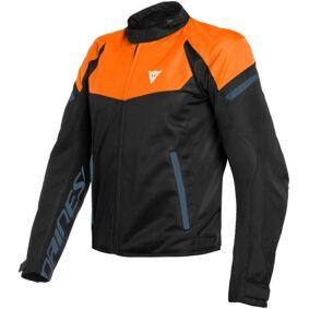 Dainese Bora Air Tex Motorsykkel tekstil jakke 48 Svart Blå Oransje