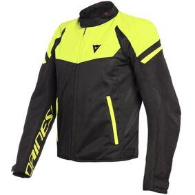 Dainese Bora Air Tex Motorsykkel tekstil jakke 48 Svart Gul