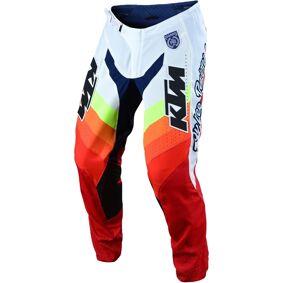 Troy Lee Designs SE Pro KTM Mirage Motocross bukser 30 Hvit Rød Blå