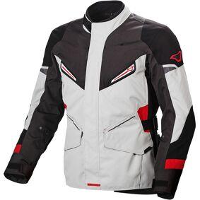 Macna Sonar Motorsykkel tekstil jakke L Grå Rød
