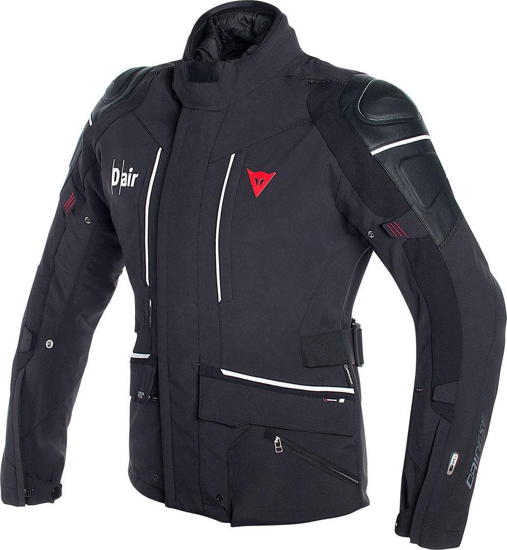Dainese Cyclone D-Air Airbag Gore-Tex Tekstil jakke Svart Hvit 54