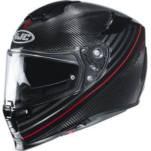 HJC RPHA 70 Artan Carbon Hjelm XS 54 55 Svart Rød