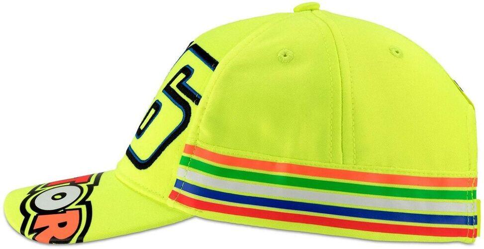 VR46 Stripes Cap Barna Cap en st...