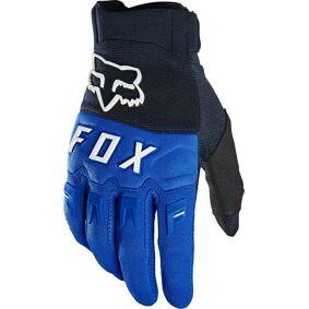 FOX Dirtpaw Motocross Hansker S Svart Blå